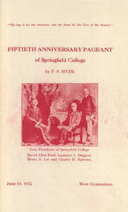 Springfield College Anniversary Pageant (1935)