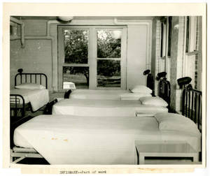 Infrimary Ward at the US Naval Special Hospital at Springfield College