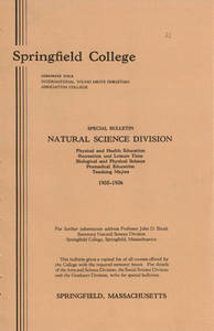 Natural Science Division Bulletin (1935-1936)