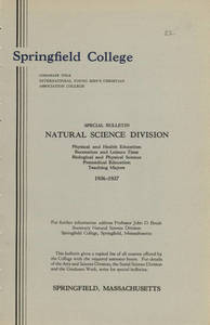 Natural Science Division Bulletin (1936-1937)