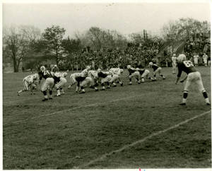Springfield College on defense, 1965
