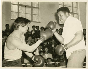 Wang Shou-Xim and Muhammad Ali (1986)