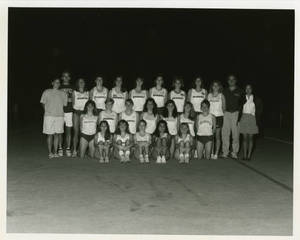 Women's Track and Field team