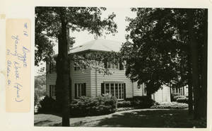 Doggett Memorial President's Home Facing North (front) on Alden St.