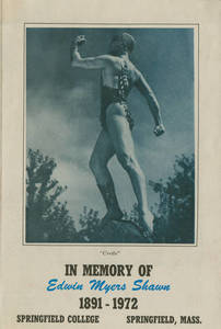 Pamphlet in memory of Ted Shawn