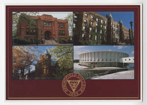 Marsh Memorial, Alumni Hall , Judd Gymnasium, and the Physical Education Complex