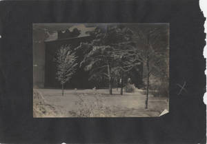 Wintery photo of the Administration Building at Springfield College