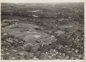 Aerial view of Springfield College Campus