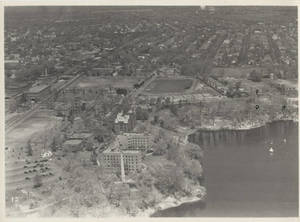 Aerial photograph of Springfield College