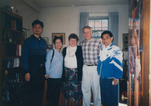 Visitors from Sun Yat-sen University to Springfield College (1998)