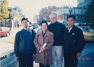 Visitors from Sun Yat-sen University by Harvard University (1998)