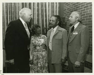 Allen Kaynor, Jeannete English, Walter English, and Henry Paar at an event