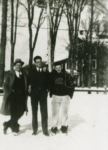 Charles E. Silvia and two others, 1930