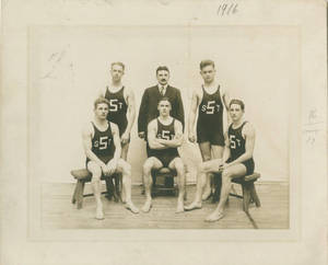 The 1916 Springfield College Swimming and Diving Team