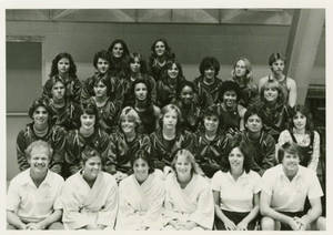 1982-83 Springfield College Women's Swimming and Diving team