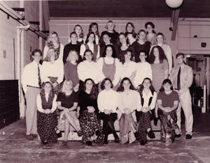 The 1994-95 Springfield College Women's Swimming and Diving team