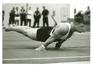 SC Gymnasts James Mlynaski performing