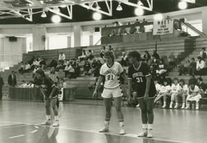 Waiting for the free throw, 1986