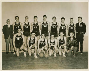 The 1951 SC Men's Basketball Team