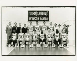 Springifeld College Basketball Team, undated