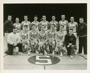 The 1958 Springfield College Men's Basketball Team