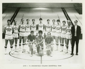 The 1970 Springfield College Basketball Team