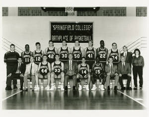 The 1990-91 Springfield College Men's Basketball Team
