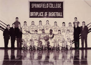 The 1993-94 Springfield College Men's Basketball Team