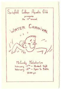 The 1956 Water Carnival program