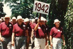 Class of 1942 on Parade