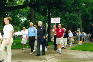 Class of 1952 on parade