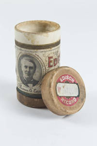 Edison Wax Cylinder Recording container