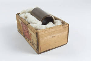 The George Williams' wax cylinder and shipping container box, 1894