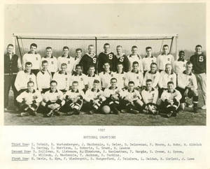 1957 Springfield College Men's Varsity Soccer Team