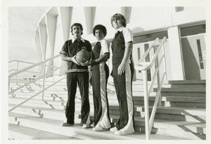 Springfield College Men's and Women's Basketball Captains for the 1981-82 seasion