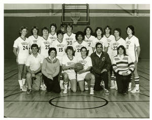 1981 Springfield College Women's Basketball Team