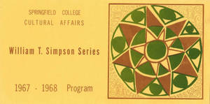 William T. Simpson Series, 1967-1968 Program