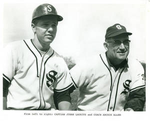 Archie Allen and Juhan Laurits (ca. 1970)