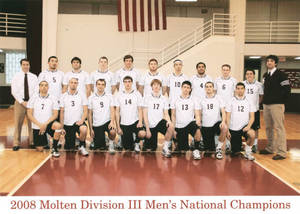 2008 Molten Division III Men's Volleyball National Champions