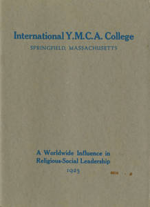 International YMCA College: A Worldwide Influence in Religious-Social Leadership