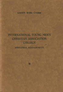 County Work Course: International Young Men's Christian Association College