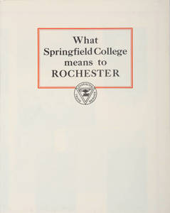 What Springfield College Means to Rochester