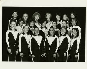 1981-1982 Springfield College women's gymnastics team