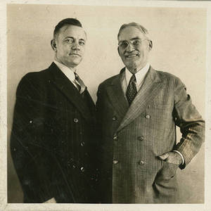 Peter V. Karpovich and Dr. James Naismith