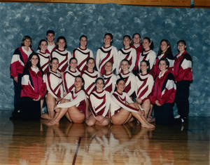 1995-1996 Springfield College women's gymnastics team