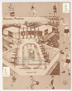 Basketball commemoration day souvenir program (Nov. 6, 1961