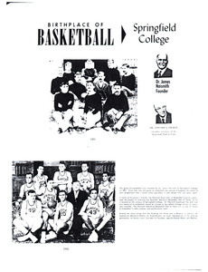 Birthplace of basketball: Springfield College