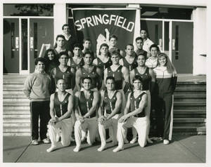 1991-1992 Springfield College men's gymnastics team