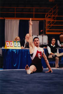 Brian M. Roy floor exercise event