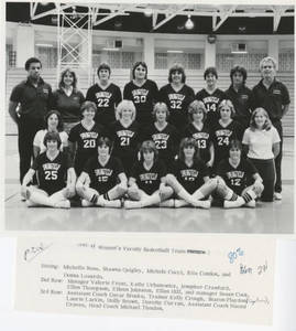 Women's Basketball Team (1983-1984)